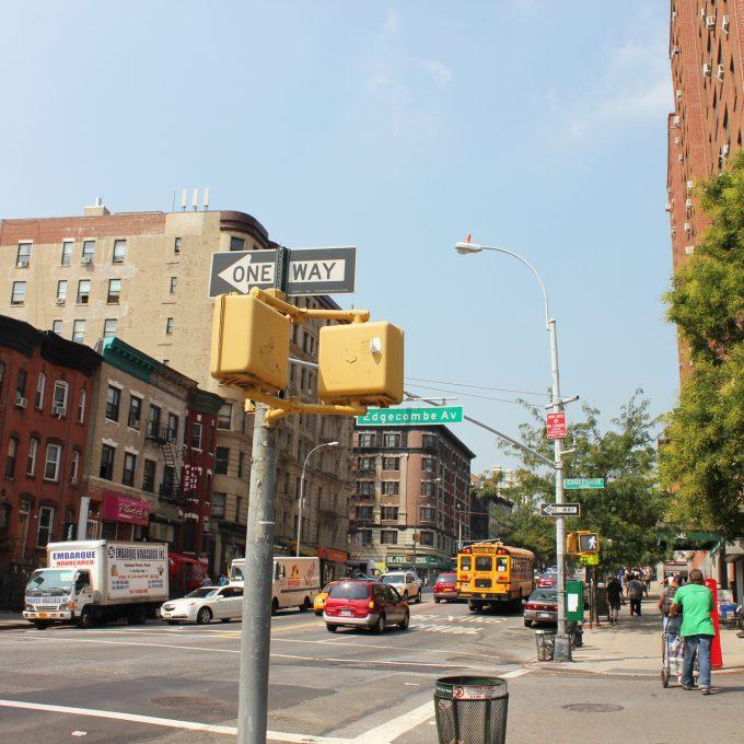 ニューヨークの道路